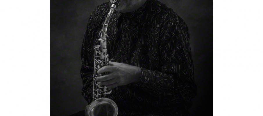 Studio session with Harvey Wainapel and his 1949  alto sax